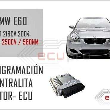 reprogramacion bmw e60