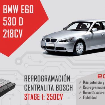 reprogramación bmw e60