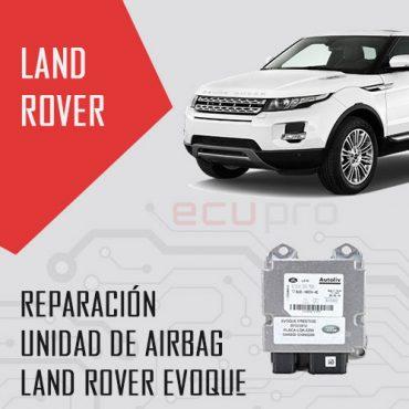reparación airbag evoque