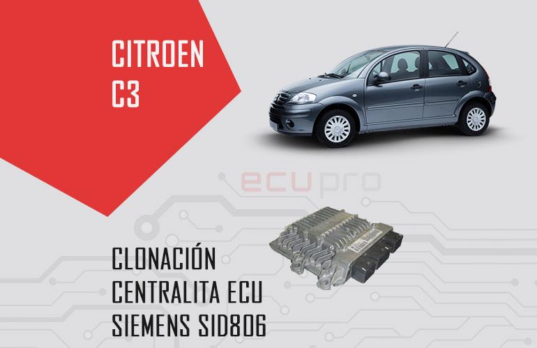 centralita Citroen C3