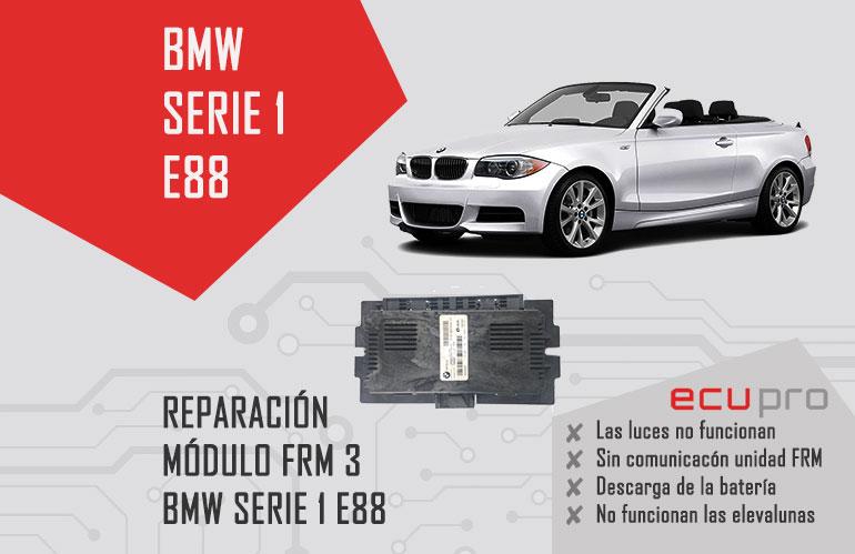 reparación frm bmw serie 1 e88