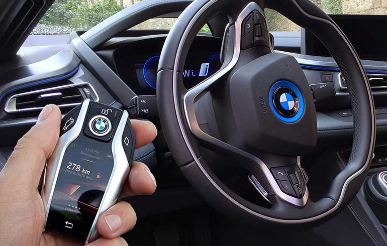 La evolución de las llaves BMW