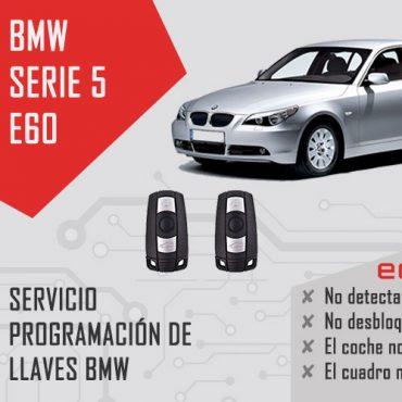 programar llave bmw e60