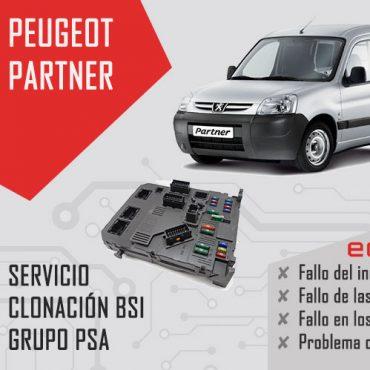clonación bsi Peugeot partner