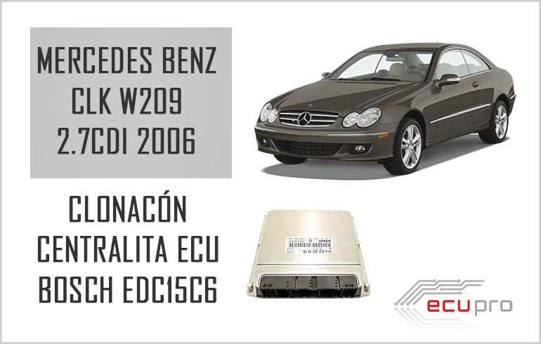 Clonación centralita ECU Mercedes