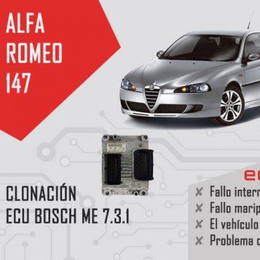 Clonación centralita Alfa Romeo