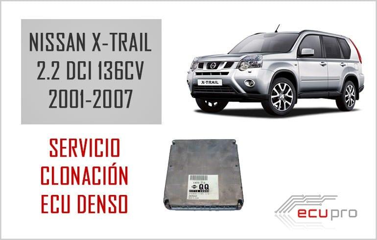 Nuevo servicio clonación  ECU motor Nissan X-Trail