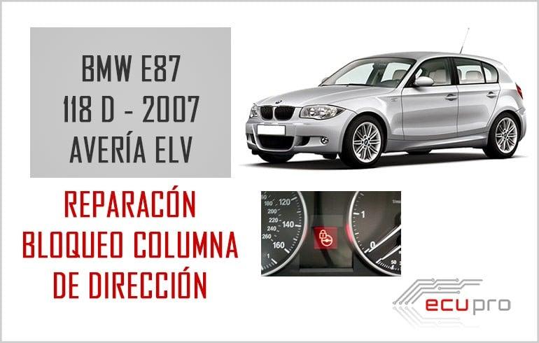 Reparación fallo ELV BMW