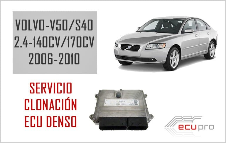 Nuevo servicio clonacion de centralitas motor Denso Volvo