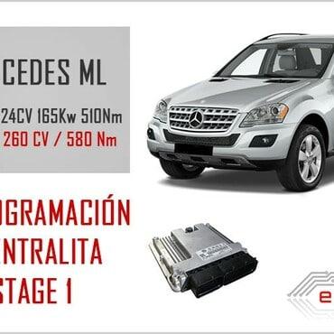 Reprogramacion Mercedes ML 320CDI