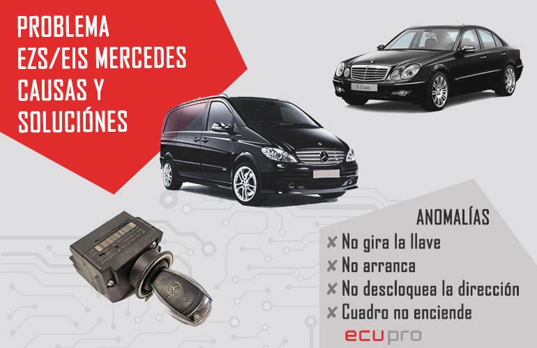 Problema EZS Mercedes causas y soluciones
