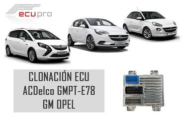 clonación centralita motor ecu Opel ACDelco E78