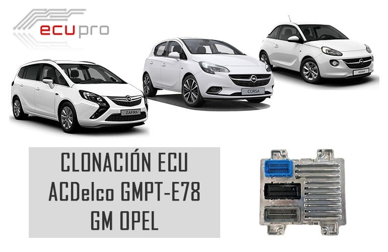 Centralita motor ACDelco E78 Opel-Fallos y soluciones