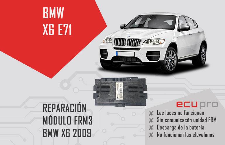 reparacion frm bmw x6