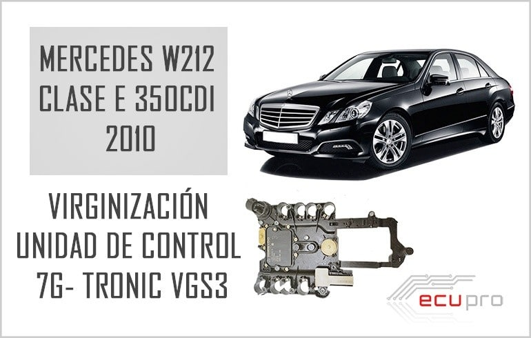 cambio Mercedes 7G Tronic