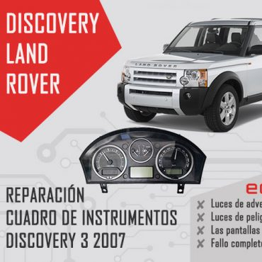 reparacion cuadro land rover discovery 3