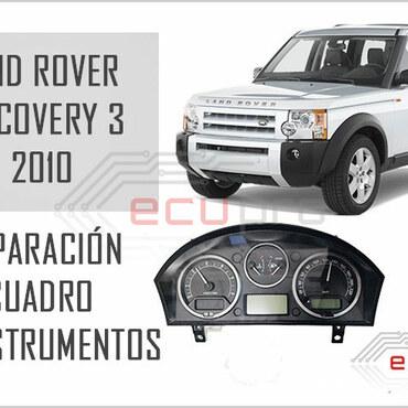reparación cuadro de instrumentos land rover discovery