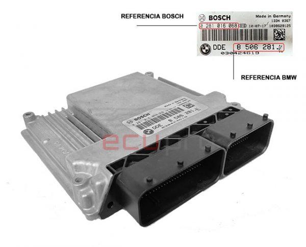 referencia ecu motor bmw bosch