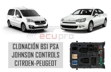 clonación bsi johnson controls