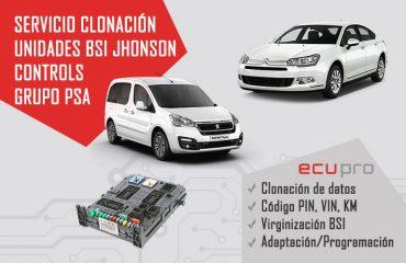 clonación bsi johnson controls