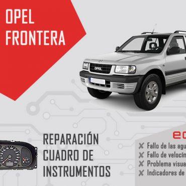 reparacion cuadro de instrumentos opel frontera