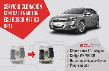 clonación centralita motor opel