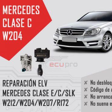 reparacion elv mercedes c w204