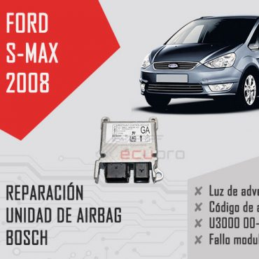 código de error u3000 airbag ford s max